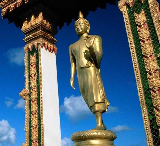 印度的小佛像
