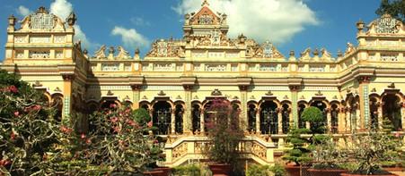 越南的建筑风景