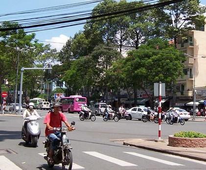越南的街道