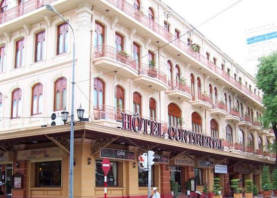 越南街边的旅馆