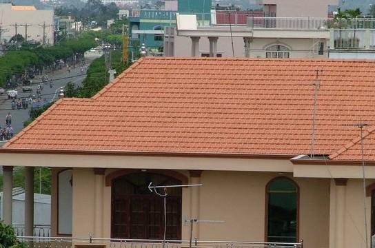 越南市区的居民建筑