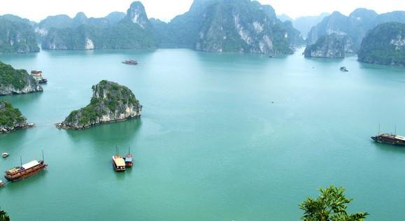 越南下龙湾风景