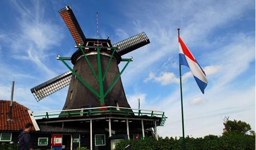 荷兰的四大古城之一的乌特勒支迷人的景象