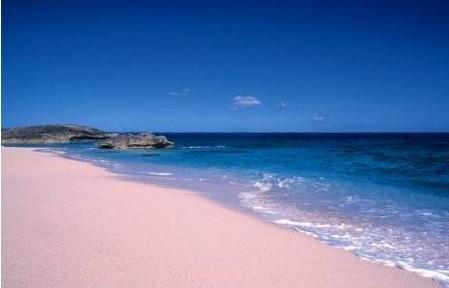 大西洋西岸最迷人的粉色沙滩