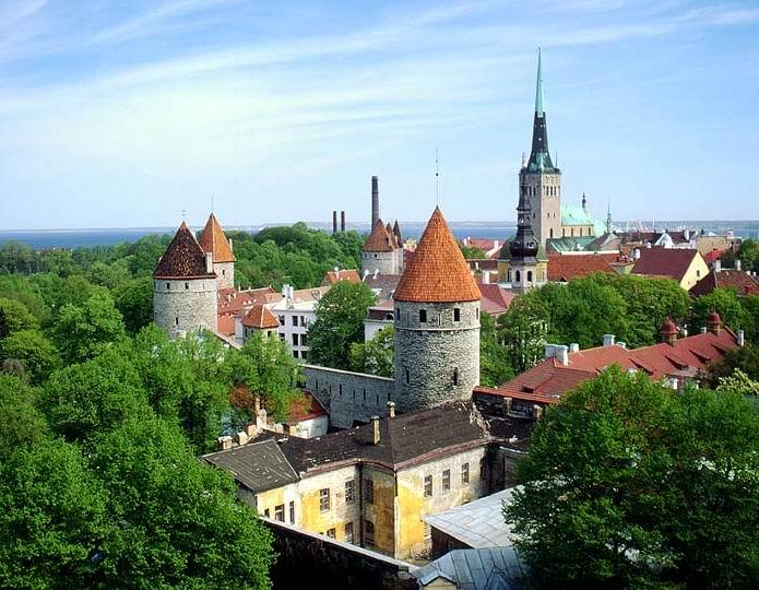 爱沙尼亚遍地都是美女就像童话里走出来的一样