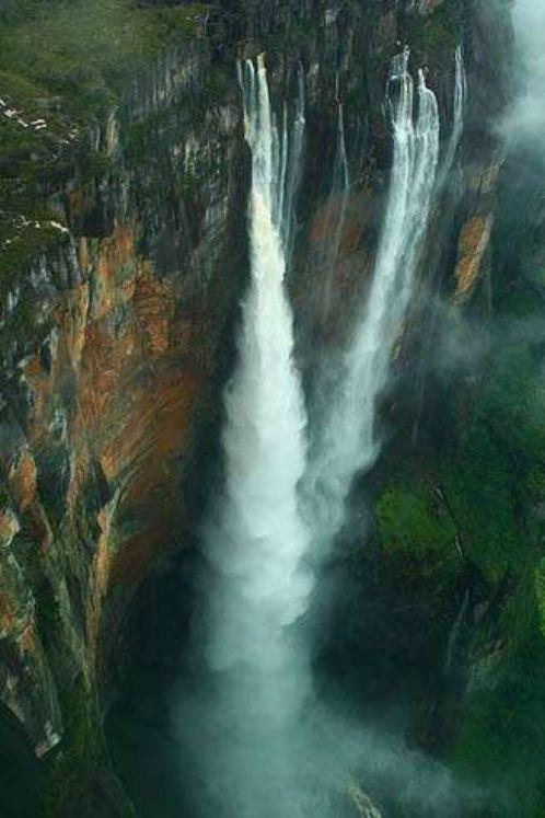 世界上最高的瀑布,委内瑞拉安赫尔瀑布