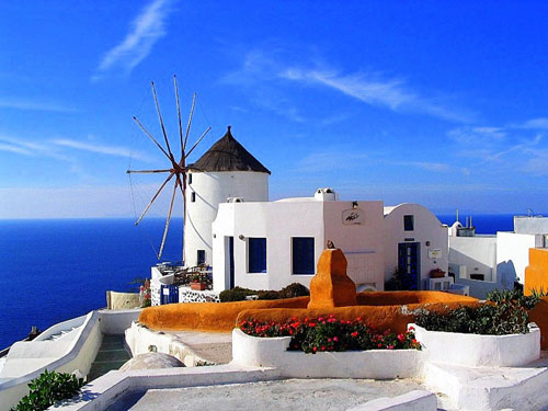 突尼斯的海边蓝白小镇,浪漫旅游的最佳选择
