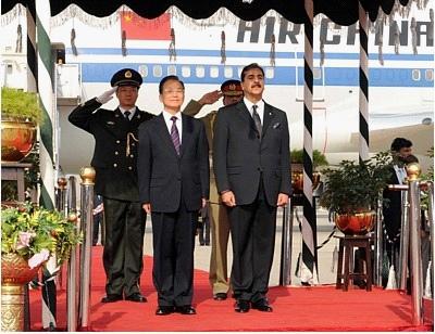 巴基斯坦和中国的关系_建立了最坚定的友谊