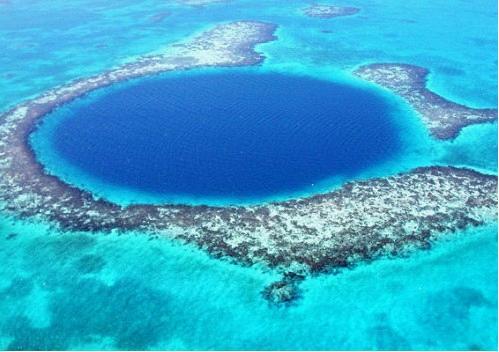 洪都拉斯蓝洞_被誉为世界十大潜水宝地之一