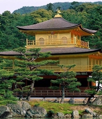 日本的特色景区之富士山下的樱花盛开