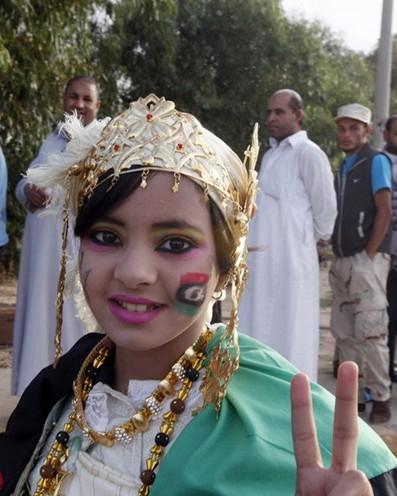利比亚国家的地区大部分均为沙漠