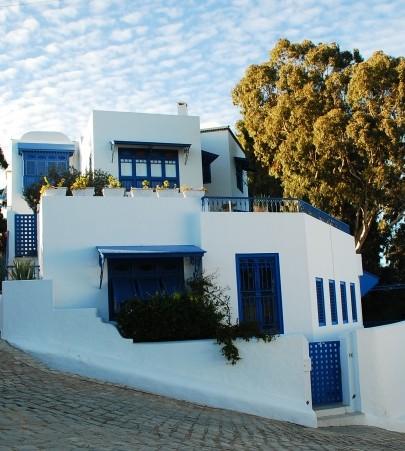 突尼斯是少数几个集中了海滩与沙漠的国家